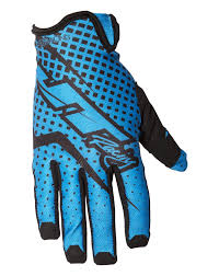 JT Racing Pro-Fit Gloves, Cyan/Black