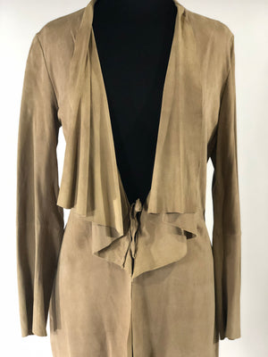 Zapa Suede Trench