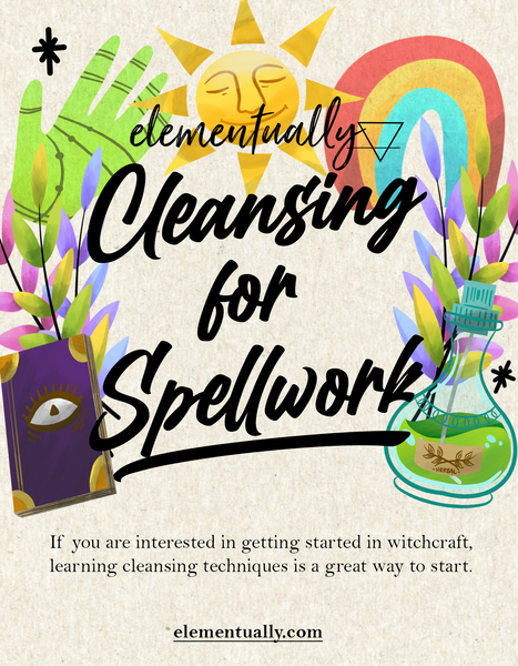 *Sale* Cleansing For Spellwork Ebook