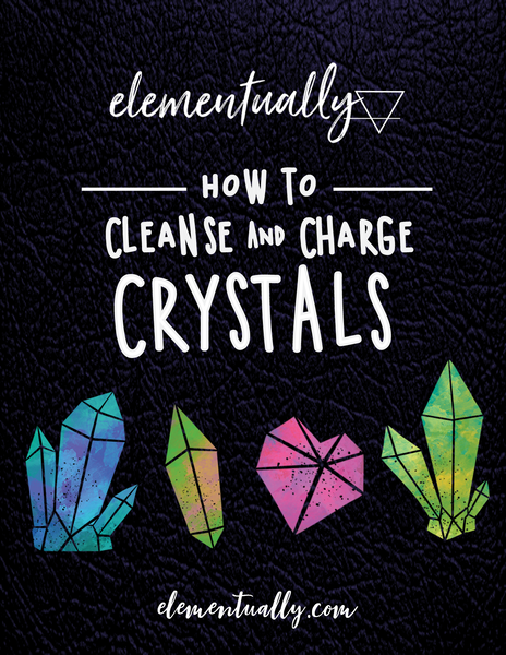 *Sale* How To Cleanse and Charge Crystals Ebook
