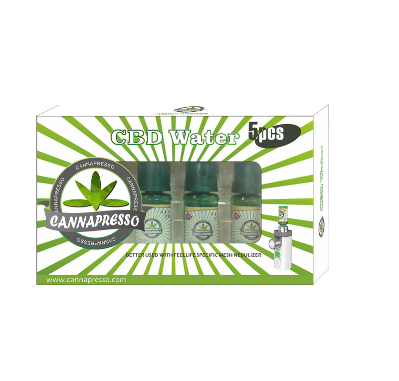 Cannapresso CBD Water 5 pack 50mg