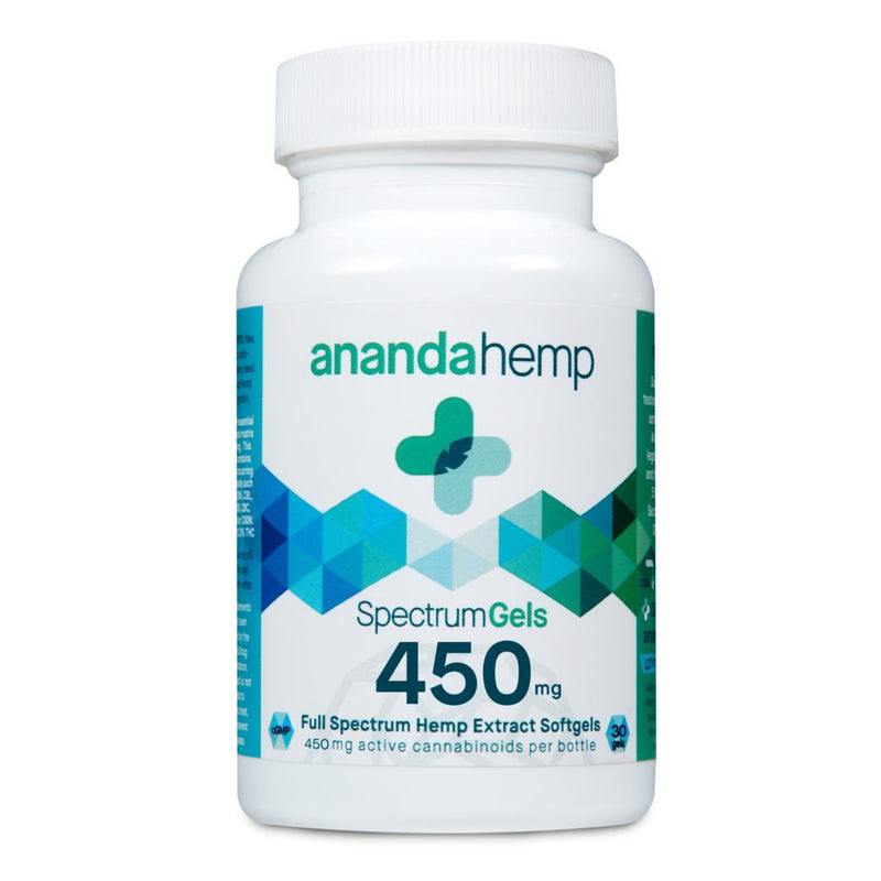 Ananda Hemp Spectrum Gels 450mg