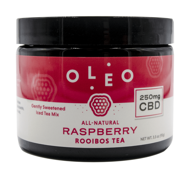 OLEO CBD Rooibos Extract Tea Mix Raspberry