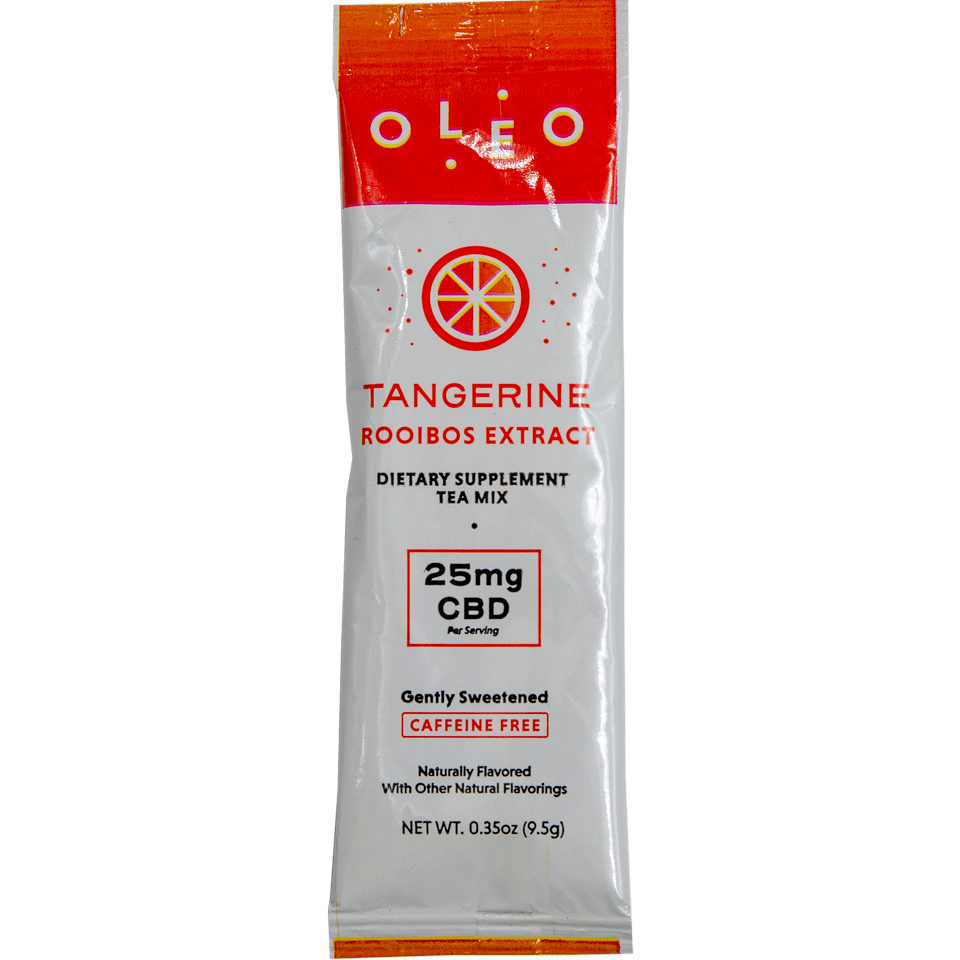 OLEO CBD Rooibos Extract Tea Mix Tangerine