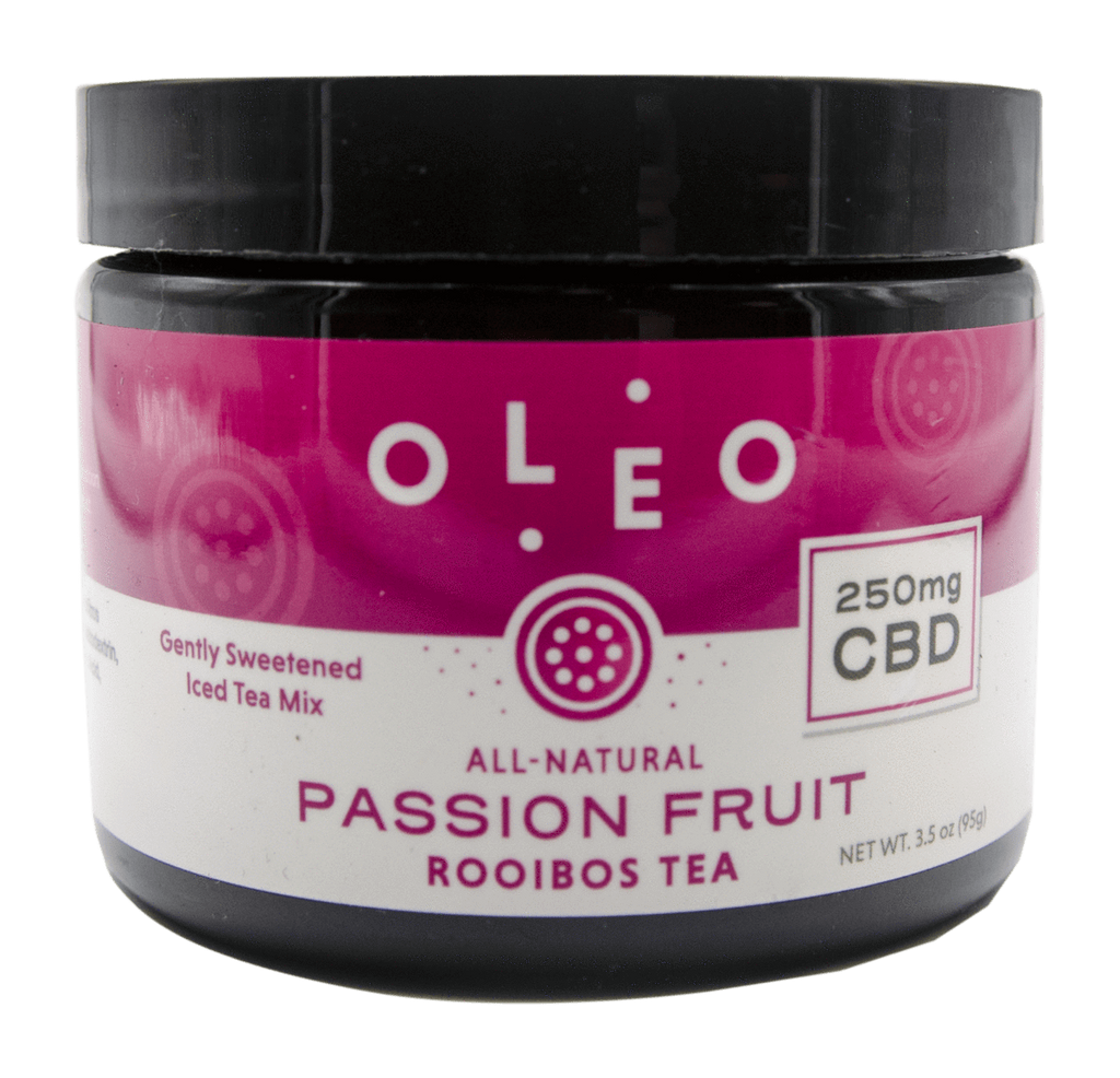 OLEO CBD Rooibos Extract Tea Mix Passion Fruit