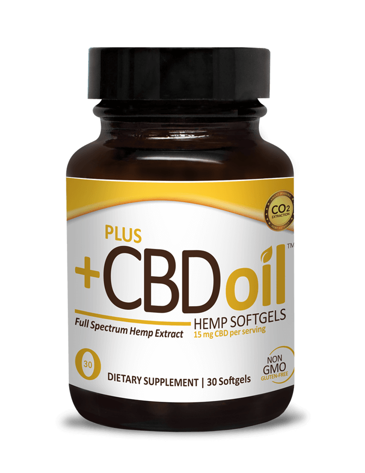 Plus CBD Oil Softgels Gold Formula - DYC