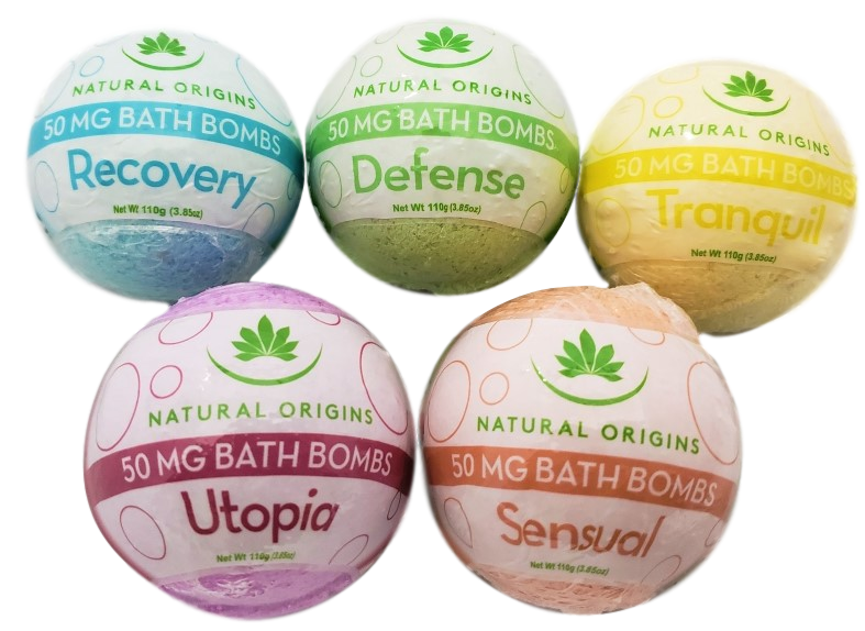 Natural Origins CBD Bath Bombs