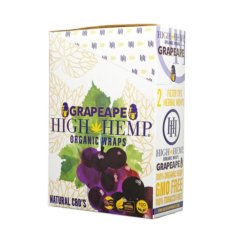 High Hemp Wraps - Grape