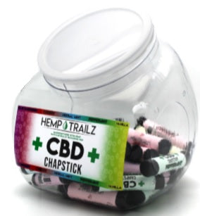 Hemp Trailz CBD Chapstick 50ct Jar