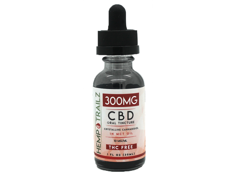 Hemp Trailz CBD Oral Tinctures