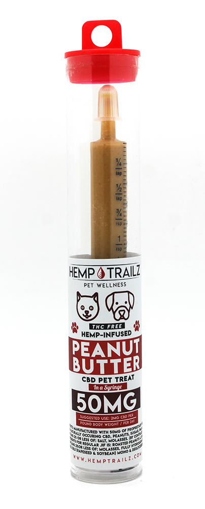 Hemp Trailz CBD for Pets Peanut Butter