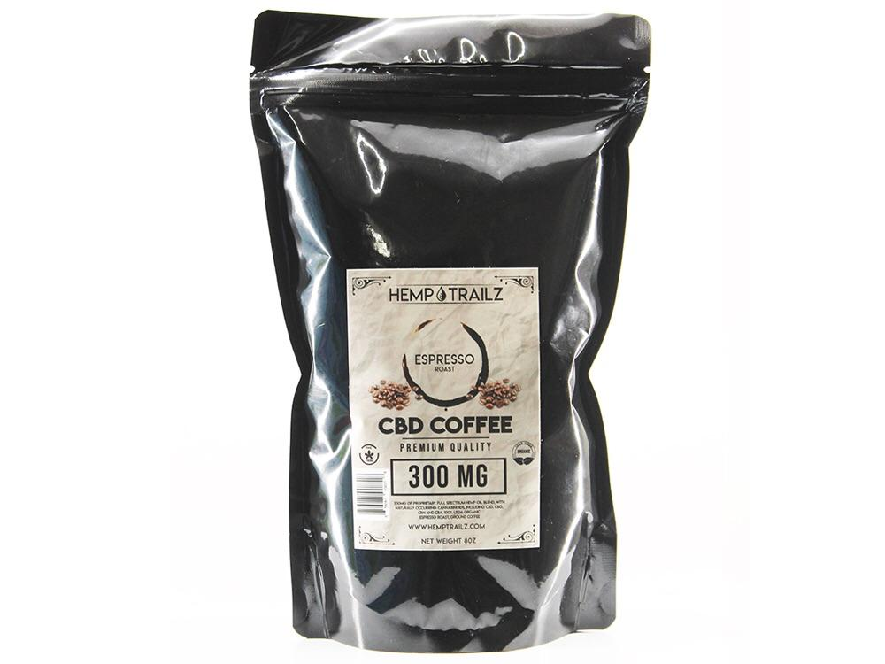 Hemp Trailz CBD Coffee 300mg