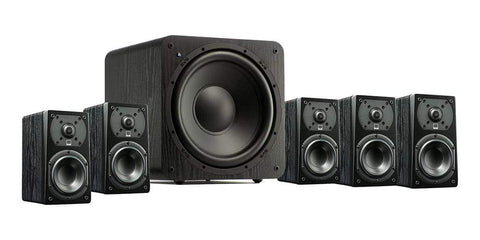 5.1 Pack Black Ash SVS Prime 5.1 Home Theatre Pack