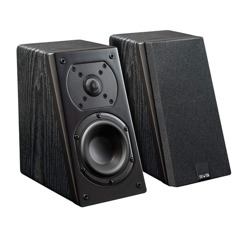 Atmos Wall Mount Speaker Black Ash SVS Prime Elevation Wall Mount Speakers