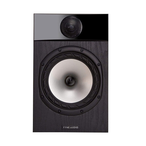 Bookshelf Speakers Black Ash Fyne Audio F301 Bookshelf Speakers