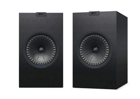Bookshelf Speakers Black KEF Q350 Bookshelf Speakers