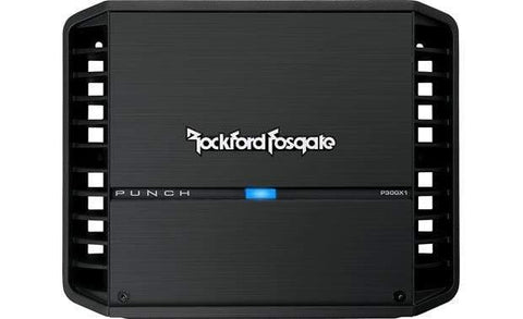 Car Audio Amplifier Rockford Fosgate P300X1 Punch 300W Mono Amplifier