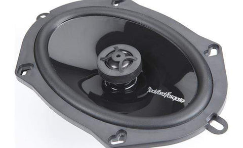 "Car Audio Speakers Rockford Fosgate P1572 5 X 7"" 2 Way Punch Car Audio Speakers"