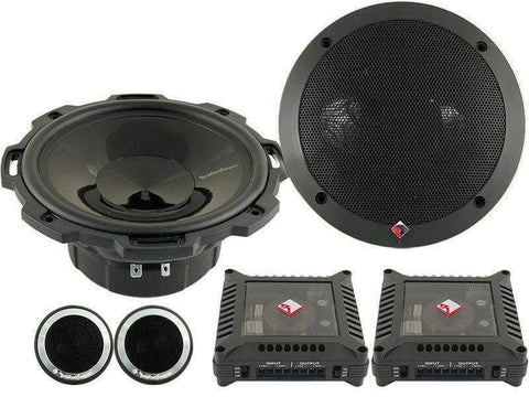 Car Audio Speakers Rockford Fosgate T1650-S 2 Way Car Audio Speakers