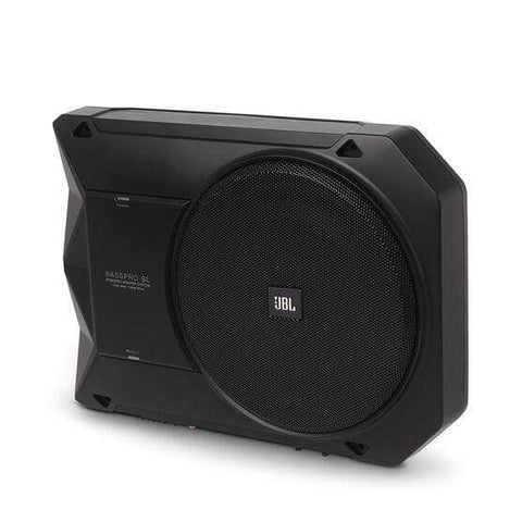 Car Audio Subwoofer JBL BassPro SL Under Seat Active Car Subwoofer