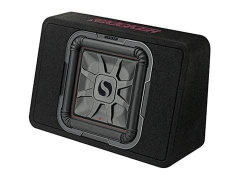 "Car Audio Subwoofer Kicker L7T 12"" Loaded Enclosure"