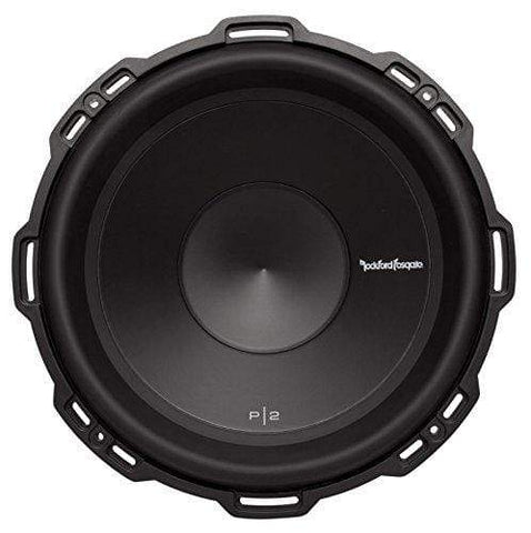 "Car Audio Subwoofer Rockford Fosgate P2D2-12 Punch 12"" P2 2-Ohm DVC Subwoofer"