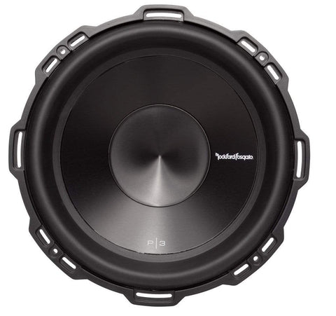 "Car Audio Subwoofer Rockford Fosgate P3D4-12 Punch 12"" P3 4-Ohm DVC Subwoofer"