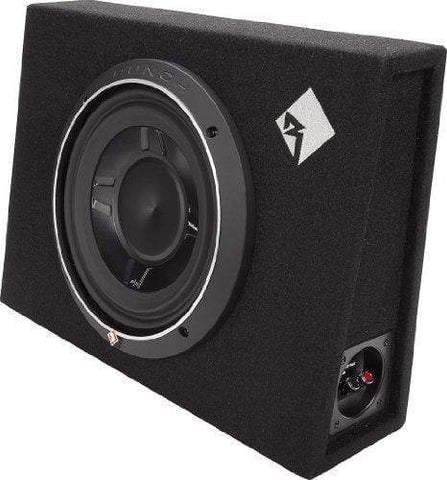 "Car Audio Subwoofer Rockford Fosgate P3S-1X10 Punch Single P3 10"" Shallow Loaded Enclosure"