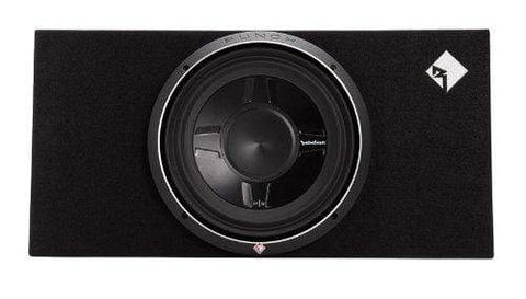 "Car Audio Subwoofer Rockford Fosgate P3S-1X12 Punch Single P3 12"" Shallow Loaded Enclosure"