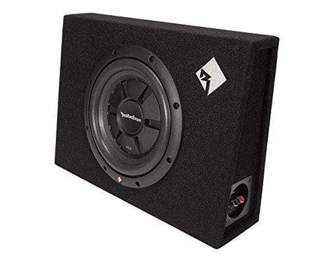 "Car Audio Subwoofer Rockford Fosgate R2S-1X10 Prime Single R2S 10"" Shallow Loaded Enclosure"