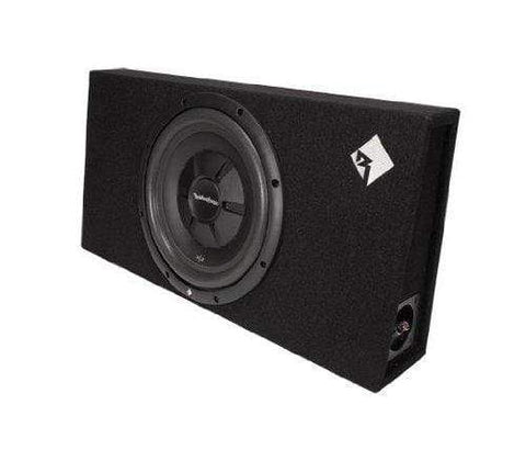 "Car Audio Subwoofer Rockford Fosgate R2S-1X12 Prime Single R2S 12"" Shallow Loaded Enclosure"