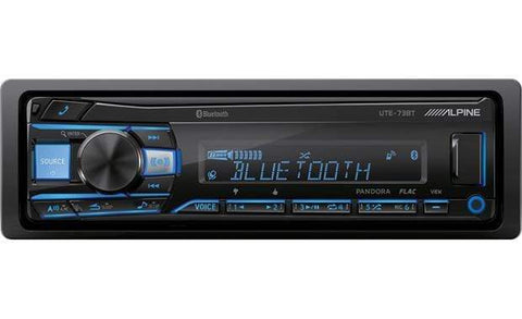 Car Head Unit Alpine CDE-UTE-73BT Car Stereo Head Unit