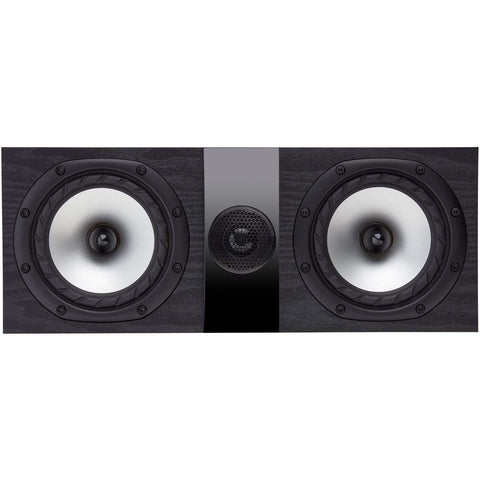 Centre Speaker Black Ash Fyne Audio F300C Centre Speaker