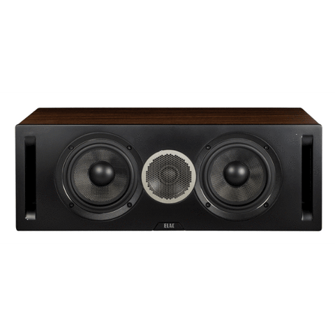 Centre Speaker Black Walnut Elac Debut Reference DCR52 Centre Speaker