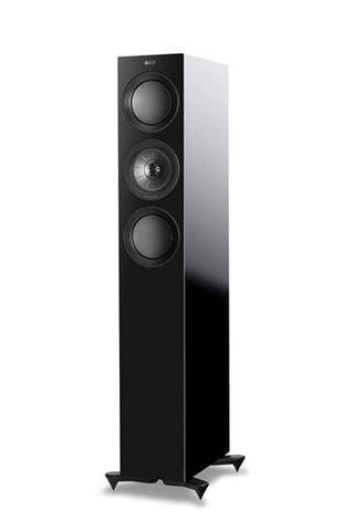 Floorstanding Speakers Black KEF R5 Premium Floorstanding Speakers