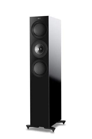 Floorstanding Speakers Black KEF R7 Premium Floorstanding Speakers