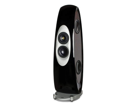 Floorstanding Speakers Gloss Black Elac Concentro Floorstanding Speakers