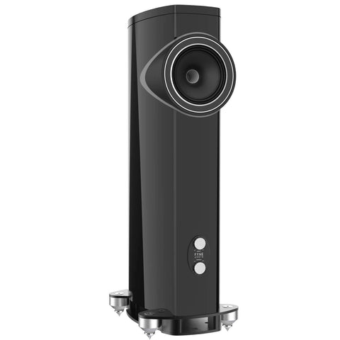 Floorstanding Speakers Piano Gloss Black Fyne Audio F1-10 Floorstanding Speakers