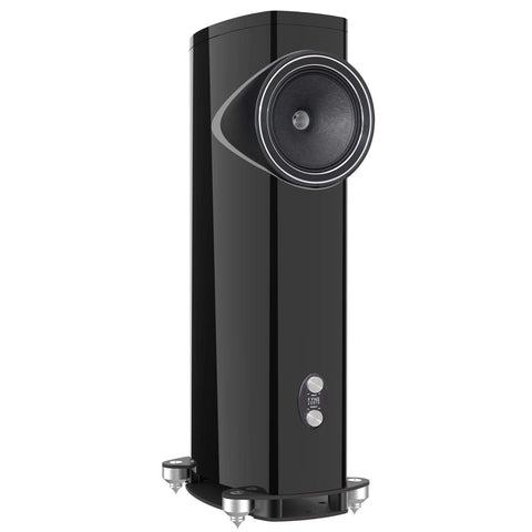 Floorstanding Speakers Piano Gloss Black Fyne Audio F1-12 Floorstanding Speakers
