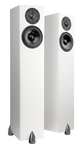 Floorstanding Speakers Satin White Totem Hawk Floorstanding Speakers
