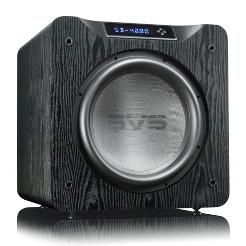 Home Theater Subwoofer Black Ash SVS SB-4000