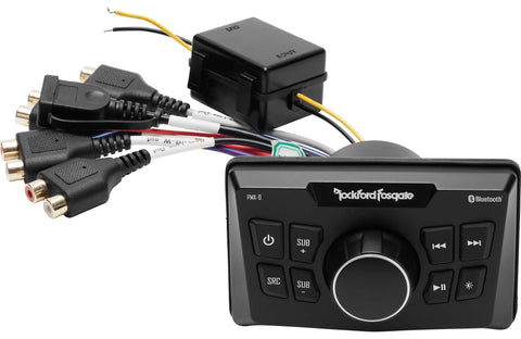 Marine Head Unit Rockford Fosgate PMX-0 Punch Marine Ultra Compact Digital Media Receiver