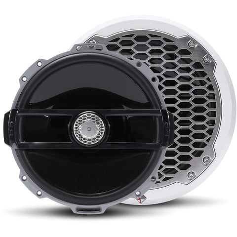 "Marine Speaker Black Rockford Fosgate  Punch Marine 8"" Full Range Speakers"