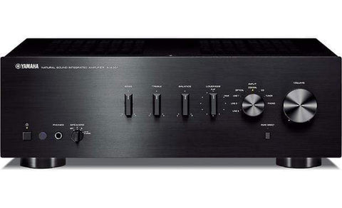 Stereo Amplifer Black Yamaha  2 Channel Amplifier A-S301