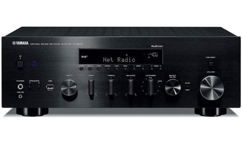 Stereo Amplifier Black Yamaha R-N803 Stereo Network Receiver