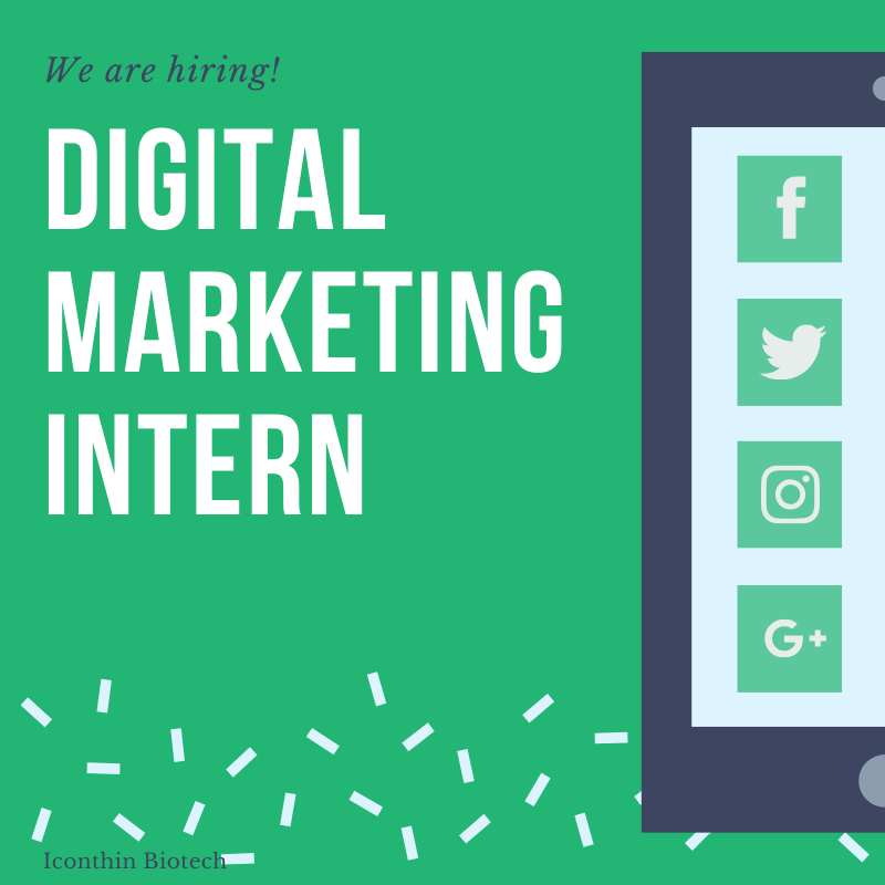 We are hiring! Digital Marketing Intern