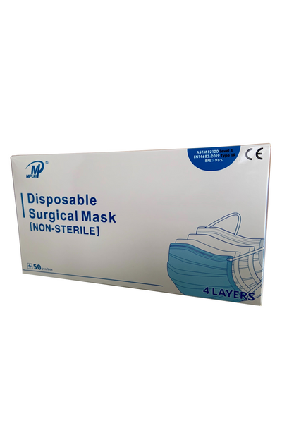 ASTM F2100 Level 3 Medical Surgical Procedure masks EN14683 Type IIR Iconthin Disposable Standard Earloop face Mask medical N95 PPE coronavirus COVID-19 emergency ontario N95 KN95 Medical equipment