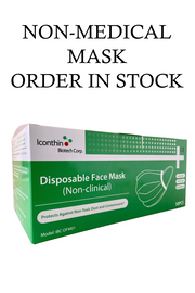 Face masks civil level protection order in stock Toronto dental surgicalASTM level 1 Type IIR Iconthin Disposable Standard Earloop face Mask medical N95 PPE coronavirus COVID-19 emergency ontario PPE