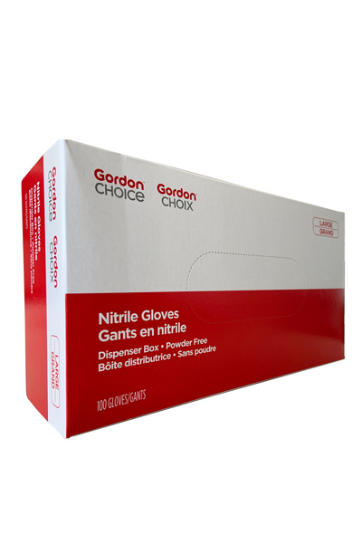 Nitrile Gloves (Powder free, 100 gloves per box) - GFS