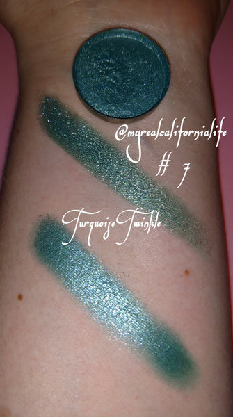 Turquoise Twinkle/Single (Eyehsadow)